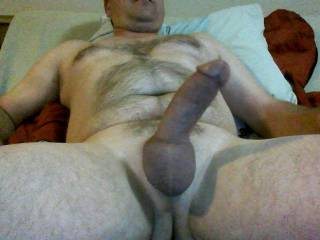 like my shaved balls and hairy chest? comments plz