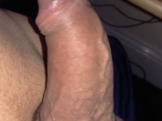 fat cock and horny balls - need some pink or red lips to sort this out ...