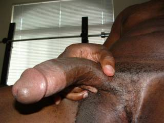 I need a woman that is willing to stroke this cock till it's nice and hard, then gently place it in your mouth and start to lick my big mushroom head. As you lick me I caress and massage your pussy lips until you start to get wet, and then I see your clit