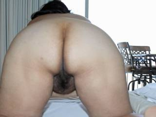 wow, would love to play with that nice butt, caress it, gently spank it, rub that nice pussy and get down and lick that pussy till you explode in my mouth, then fuck you good and cum all over your titties