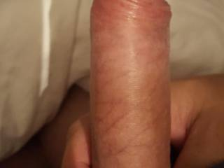My hard cock. Ready to be sucked and ridden.