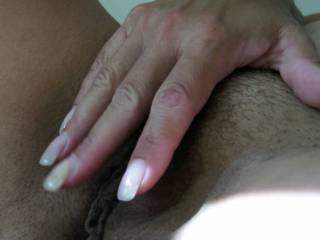 I love touching my pussy. Anyone like to help?