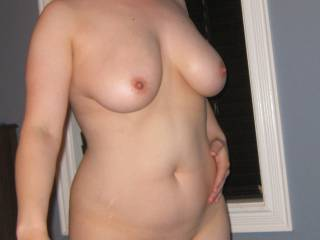 My naked body for all to see
