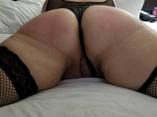 After a light spanking