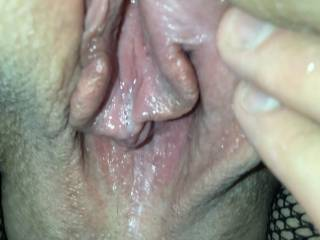 Wife's juicy pussy