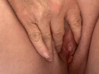 This clit and pussy is so wet after comments and tributes...need a good licking and suck this pussy