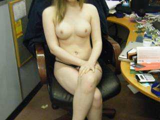 Me at my BF\'s business i paid him a visit who else wants a visit?  anyone wanna fuck me while my bf watches male or female?, Please send your cum tributes