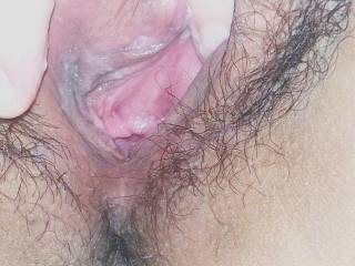 can i slide my tongue deep inside your creamy pussy as you suck your mans cock