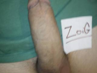A quick verification shot. Looking for a lady to shoot it in. :)