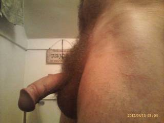 All of it...but I wanna suck on that hot big head....then I'll swallow the rest of it...and make you cum...I'll swallow that too.  K
