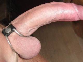 Ooooooo, I would drop to my knees to suck that gorgeous hard cock in a second.....and swallow it.....when you cum.....I'll swalllow all of that too...then I'll suck you hard again.  Hon, that IS a hot big cock.  K
