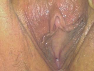 my almost clean shaven pussy
