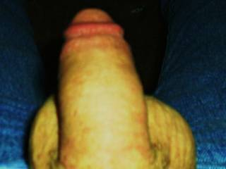 dick shes getting ready to suck it.nice shaved cock do you like