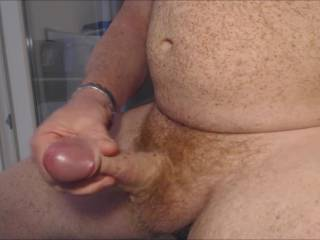 Exciting watching you shoot off a hot load with that beautiful cock!