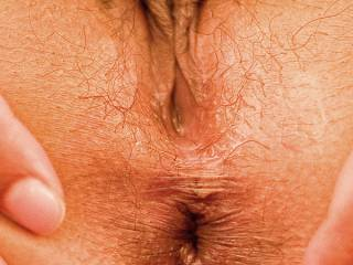 my wife showing off her anus :)