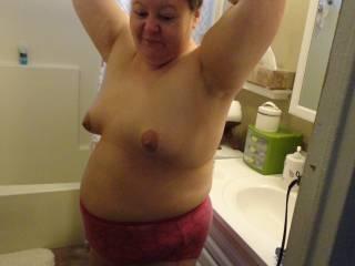 Like my little tits?