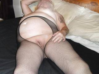 Waiting for someone to eat my fat shaved cunt suck my tits then fill me full of cum, any volunteers?