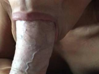 Lady friend sucking me good and riding her dildo.  Then she wants to jump on for a ride