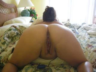 her gaping pussy after pulling my fat cock out after our quickie