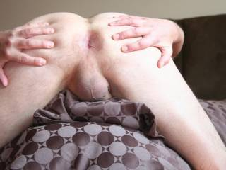 SENSATIONAL ASS CHEEKS SPREADING, GREAT VIEW OF YOUR TIGHT PORNO ASSHOLE AND BALLS