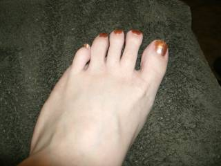 Dont get me wrong you have a sexy body really but your feet are like wow I am in love with those toes ssssoooo damn hot makes me hard as hell