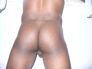 mmmm gotta love that butt...and i love how you can see a tiny bit of your balls and cock too...such an erotic tease.