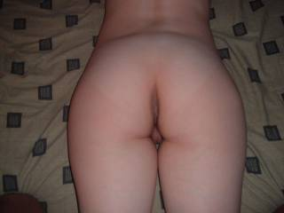 That ass looks ready for my cock.