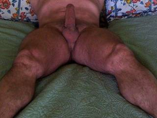 mmm very hot! I would love to crawl up between those legs and give you a lick or two ;-)