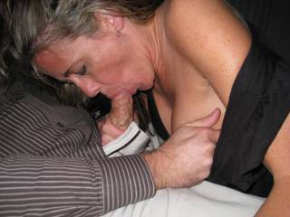 Wow what a friendly neighbor you are =) i would volunteer for any work you needed done if i was rewarded like this ;)...I always wanted to find a woman twice my age or older who just wanted to suck a cock, maybe after slutting around town flashing?...