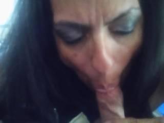 Fun Hispanic Cougar. Sucked me dry