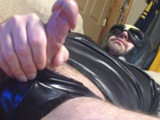 Trying to get my wife to come suck my cock !