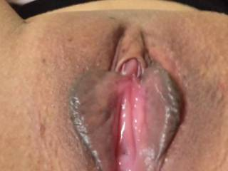 my pussy licked open for a big dick.