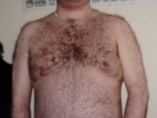 my hairy chest