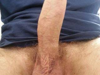 Mr.secretfun's long thick dick!! Who wants a taste!?