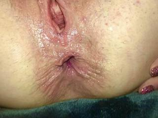 getting both holes fucked hard