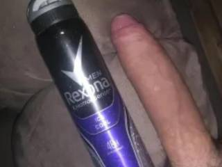Just showing the size of my cock. Bored taking pics