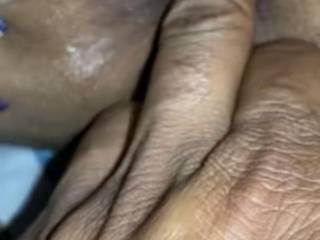 Asshole fingering. She's spreading her cheeks and playing with her pussy. Well SOMEONE has to finger fuck that wet asshole. Ya think I can go two knuckles deep?
