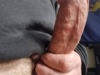 Can you fit an 8+ long/6.5 around cock in your mouth and not chock on a huge cumload. Watch my other vids, when I cum I cum everywhere lol.