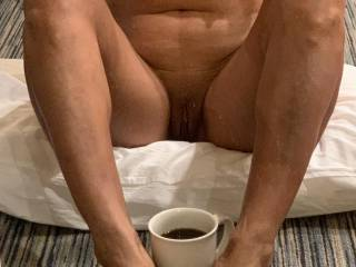 What are you in the mood for early in the morning, coffee or something else between my legs?
