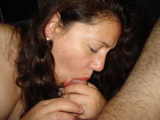 You look so pretty sucking that dick, young lady. Love it. Wish it was me!