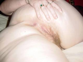 Wife\'s hot ass and pussy....so much fun to lick and fuck.