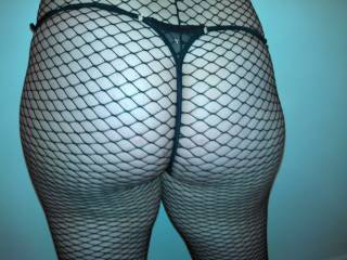 showing my new fishnet
