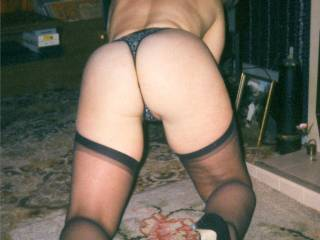 What does it take to be your friend? I would love were you to send me some of these great shots of your fine ass to me - naked of course - I am very oral and would gratify you for hours in this position if you wish