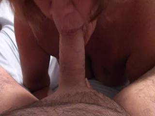 Oh yes she does give a great blowjob. wow!  on a scale of 1 to 10, I'd give her a 15.  She deserves it.  She is really good!