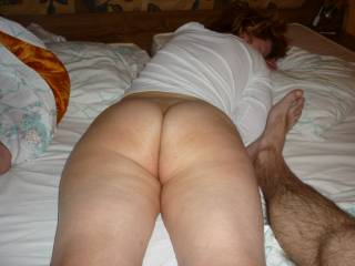 Oh my yes what a fine ass it is too looks like my lady friends Sue sexy hot ass Mmmmmmm