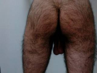 I could cum just at the sight of your hot hairy ass!!