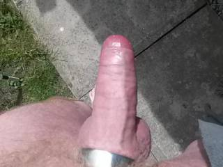 love to be outside and see that massive bone coming toward me, it would be drop to my knees and sucking time!!