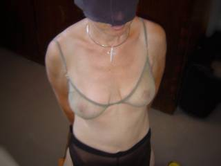 The real me - desperate to be liked, desperate to be fucked. Kneeling & waiting patiently..Why has my bra not been taken offf yet? Will I only get to suck, or will I be lucky enough to be fucked? Kind words, or just suck bitch?