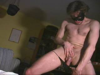 I ran into a girl at a fetish party, and she told me she loved watching guys jerk off.  So I sent her these videos.