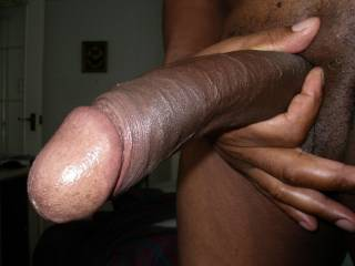 Oooo, now thats a cock I need....all the time. A nice big delicious, hard, sexy and black cock.  Cure me with those ailments.  Do you give a guarantee.....ummm, I bet you do.  Mmmm it looks so good.  K